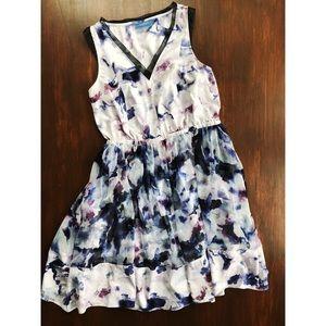 Simply Vera Watercolor Dress by Vera Wang